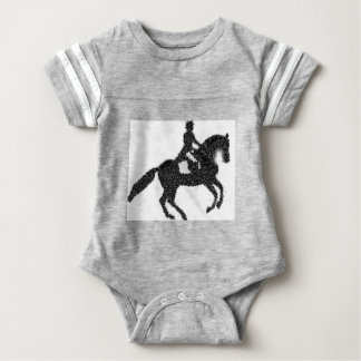 Het Ontwerp van het Mozaïek van het Paard en van Romper