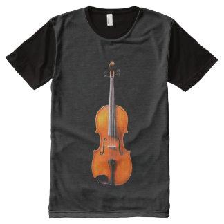 Het Ontwerp van het Overhemd van de altviool door All-Over-Print T-shirt