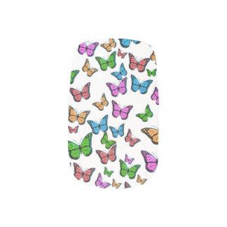 Het Ontwerp van het Patroon van vlinders Minx Nail Folie
