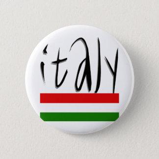 Het Ontwerp van Italië! Ronde Button 5,7 Cm