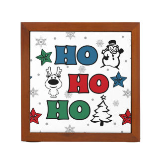 Het ontwerp van Kerstmis ho-Ho Pennenhouder