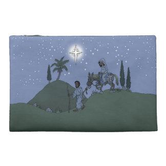 Het ontwerp van Kerstmis op zak Reis Accessoire Tasje
