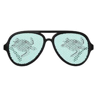 Het Ontwerp van Lineart van de Schildpad van het Aviator Zonnebril