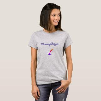 Het ontwerp van Mommyblogger T Shirt