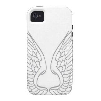 Het ontwerp van vector-vleugels Case-Mate iPhone 4 hoesje