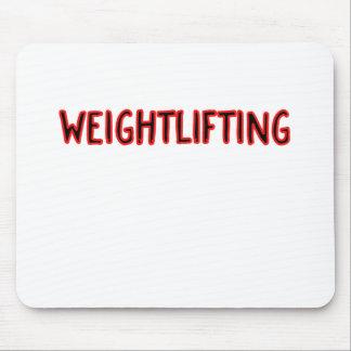 Het Ontwerp van Weightlifting Muismatten