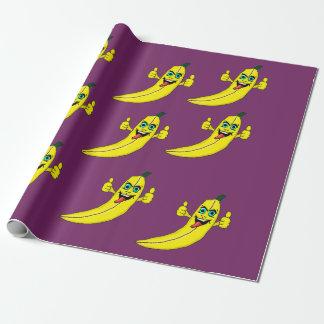 Het ontwerp verpakkend document van de banaan inpakpapier