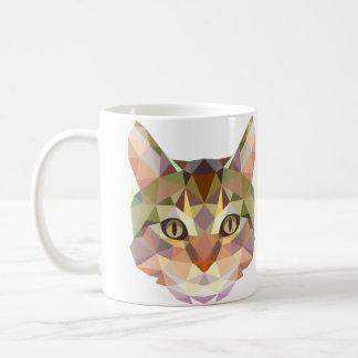 Het ontwerpmok van de kat koffiemok