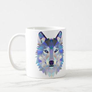 Het ontwerpmok van de wolf koffiemok