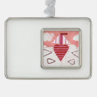 Het Ontworpen Ornament van Loveheart Boot