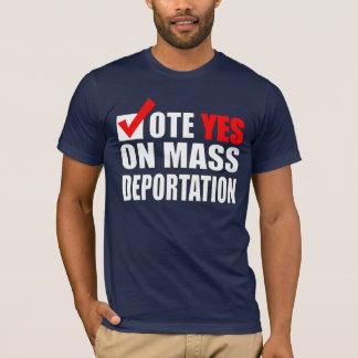 Het onwettige Overhemd van Immigranten T Shirt