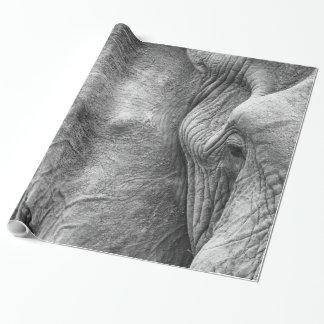 Het oog van een olifant cadeaupapier