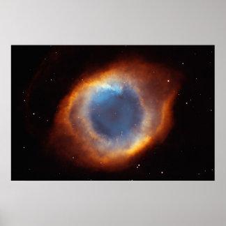 Het oog van God Poster