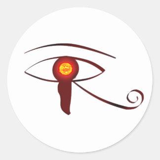 Het oog van Horus Ronde Sticker