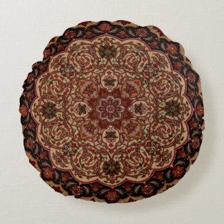 Het oostelijke Vintage Perzische Patroon van het Rond Kussen