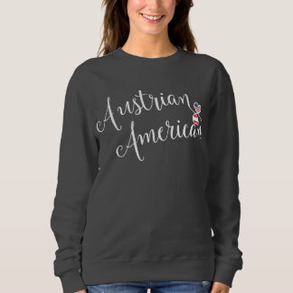 Het Oostenrijkse Amerikaanse Sweatshirt van Harten