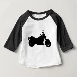 Het op zwaar werk berekende Silhouet van de Baby T Shirts