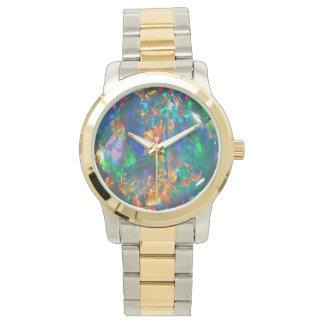 Het Opaal van de brand Horloge