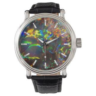 Het Opaal van de Brand van Aussie Horloge