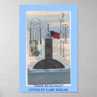 HET OPDRAGEN USS COLUMBUS POSTER