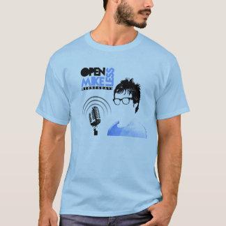 Het open Blauw van de T-shirt Mikeless met de Data