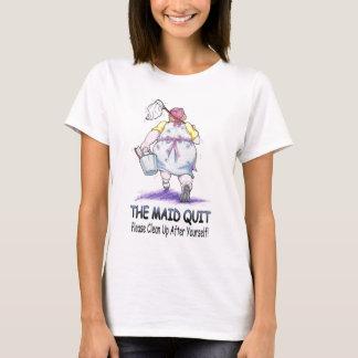 Het opgehouden met Meisje T Shirt