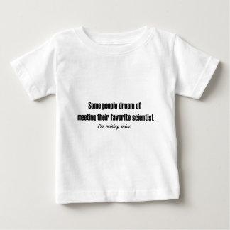 Het opheffen van Mijn Favoriete Wetenschapper Baby T Shirts