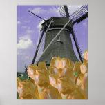 Het oranje Art. van het Poster van Holland van de