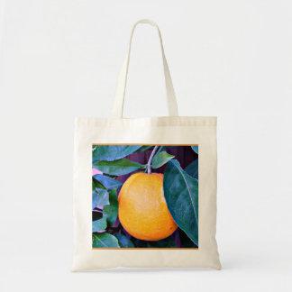 """Het """"oranje"""" Canvas tas van de Begroting"""