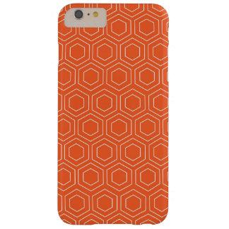 Het oranje Geometrische Hoesje van de Telefoon van