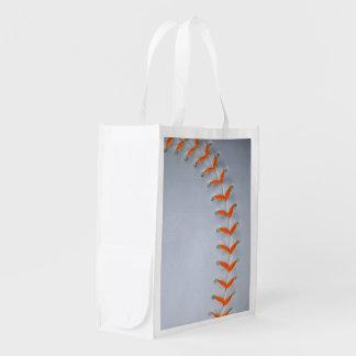 Het oranje Honkbal/het Softball van Steken Shopper