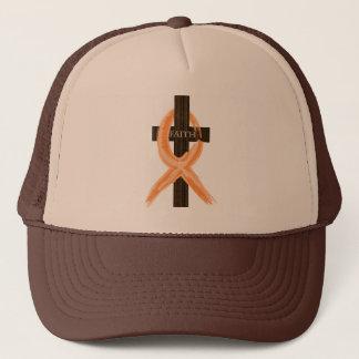 Het oranje Kruis van de Overlevende van de Trucker Pet