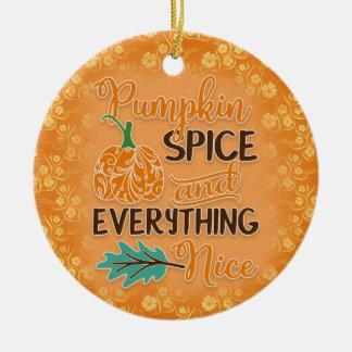 Het oranje Ornament van de Pompoen van de Herfst