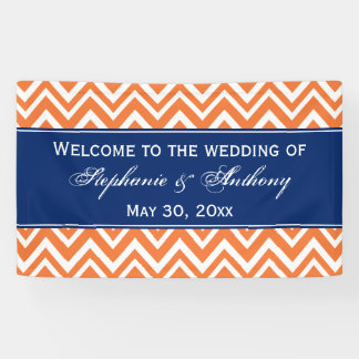 Het oranje Patroon van de Zigzag met het Huwelijk