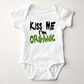 Het organische Overhemd van de Kus Romper