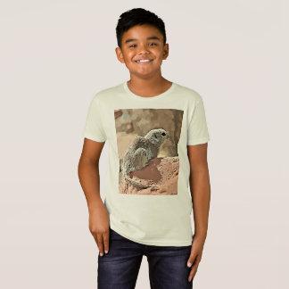 """Het Organische T-shirt de """"Eekhoorn van het kind"""