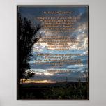 Het originele Gebed van de Sereniteit Plaat