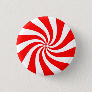 [Het Originele] Snoep van de Pepermunt Ronde Button 3,2 Cm