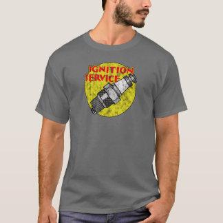 Het originele Vintage Hete T-shirt van de Bougie