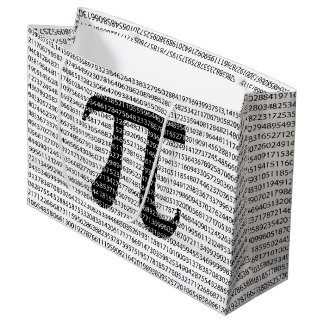 Het originele zwarte wiskundige symbool van de groot cadeauzakje