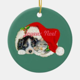 Het Ornament Franse Canadees van Kerstmis van Noel