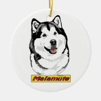 Het ornament Malamute van Alaska