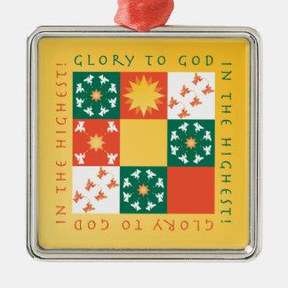 Het Ornament rv van Kerstmis van het Lof van het