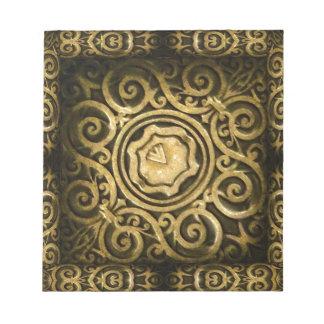 Het Ornament van Arabesque Notitieblok