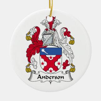 Het Ornament van CREST van de Familie van Anderson
