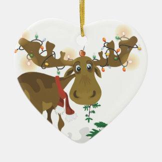 Het ornament van de Amerikaanse elanden van