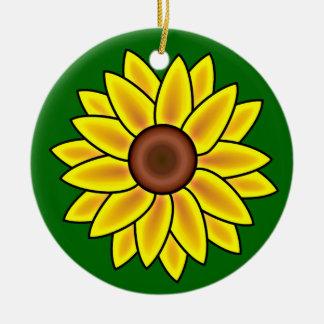 Het Ornament van de Bloem van de zonnebloem