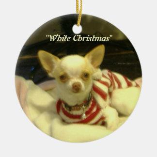 """Het Ornament van de Boom van Chihuahua van """"witte"""