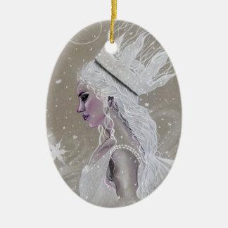 Het Ornament van de boom van Queenchristmas van de