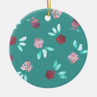 Het Ornament van de Cirkel van de Bloemen van de